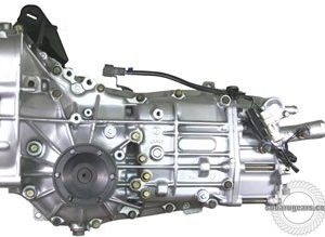 Fully built 2WD reversed REMANUFACTURED transmission